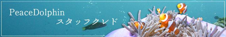 Peace Dolphin スタッフクレド